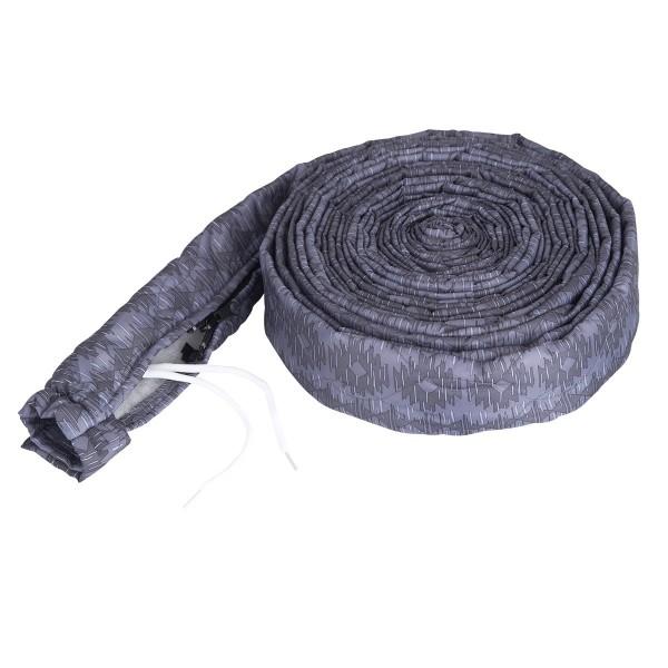 Stoff Schlauchschutz Vacsoc mit Zippverschluss für den Zentralstaubsauger Schlauch